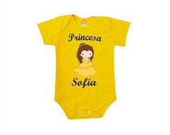Body ou Camiseta Princesa Bela