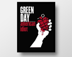 Pôster c/ moldura - Green Day