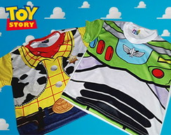 Kit Camiseta Toy Story Buzz Lightyear