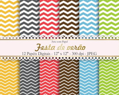 Papel Digital Scrapbook Linhas