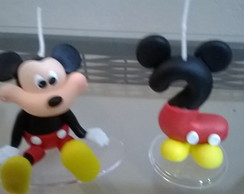 vela de biscuit do mickey