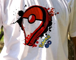 Camiseta Estampada Pointer de Pokemon GO