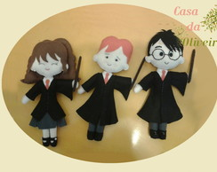Kit Boneco Turma do Harry Potter 30 cm