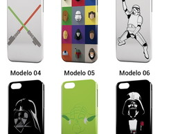 Capa Capinha Celular Star Wars Darth BB8