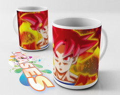 Caneca Dragon ball Z Dragonball Goku DBZ