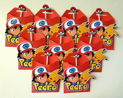 Pirulito no Envelope Pokemon