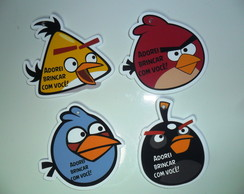 Tag Personalizada Angry Birds