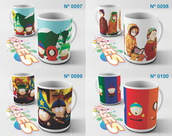 Caneca South Park Kenny Cartman Kyle