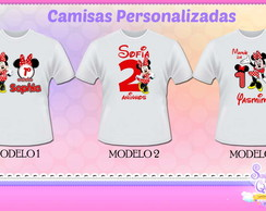 Camisetas MINNIE VERMELHA