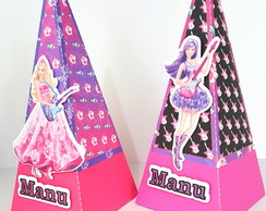 Caixa Cone Barbie Pop Star