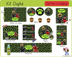 Kit Festa Digital Cat Noir