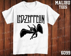 Camiseta Led Zeppelin Rock Banda Cantor