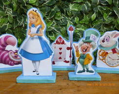 kit Display de mesa festa infantil Alice
