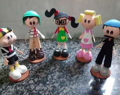 KIT A TURMA DO CHAVES