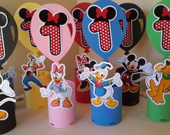 enfeites de mesa turma do mickey