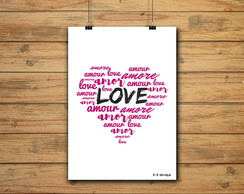 POSTER -LOVE