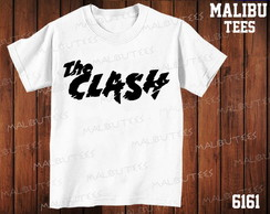 Camiseta The Clash Rock Banda Cantor