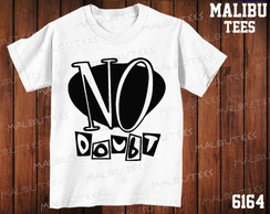 Camiseta No Doubt Rock Banda Cantor