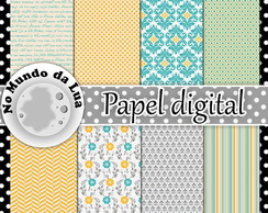 Papel digital - Variado Cod. 4