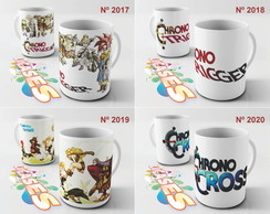 Caneca Chrono Trigger Cross Stitch
