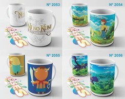 Caneca Ni No Kuni Oliver Mr Drippy Game