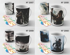 Caneca Tomb Raider Lara Croft Game
