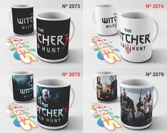 Caneca The Witcher 3 Wild hunt RPG Ciri