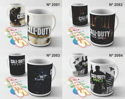 Caneca Call Of Duty COD Advanced Black