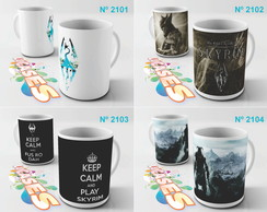 Caneca Skyrim The Elder Scrolls 5 V RPG