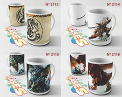 Caneca Monster Hunter Ultimate MH