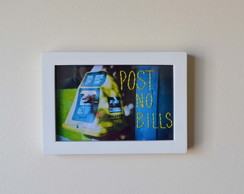 Quadro bordado - Post no Bills