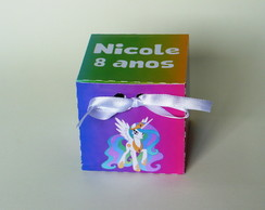 Caixa cubo personalizada My Little Pony