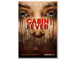 POSTER 30X40 - Cabin Fever (2016)