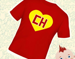 Camiseta Infantil Chapolin Colorado