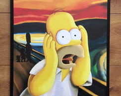 Placa Decorativa- Homer 30x40cm