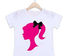 Camiseta Infantil Barbie