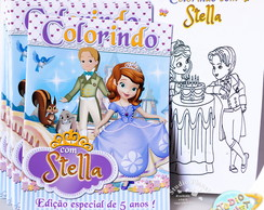 Revista de colorir Princesa Sofia