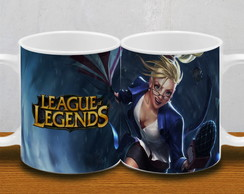 CANECA LEAGUE OF LEGENDS 10