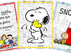 Kit artes DIGITAIS Snoopy