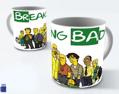 Caneca Breaking Bad Simpsonizada