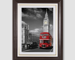 Quadro Big Ben Red Bus Londres Sala F98