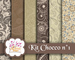 Kit Papel Digital Chocco n°1