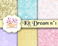 Kit Papel Digital Dream n°1