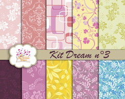 Kit Papel Digital Dream n°3