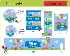 Arte Digital George Pig