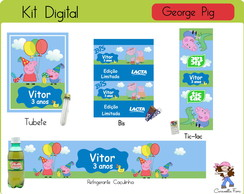 Kit Digital George Pig