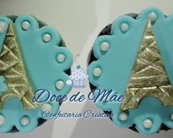 Mini Cupcake Personalizado Paris