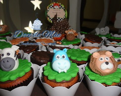 Mini Cupcake Personalizado Safari