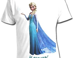 CAMISETA PRINCESA FROZEN