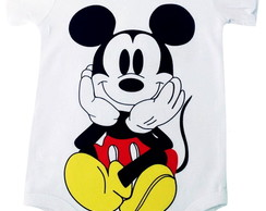 Body Mickey frente e costas